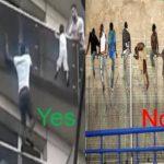 La hipocresia d'Occident amb Mamaudou